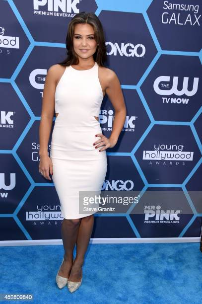 Actress Danielle Campbell attends the 2014 Young Hollywood Awards held at The Wiltern on July 27 2014 in Los Angeles California