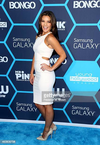 Actress Danielle Campbell attends the 2014 Young Hollywood Awards brought to you by Samsung Galaxy at The Wiltern on July 27 2014 in Los Angeles...