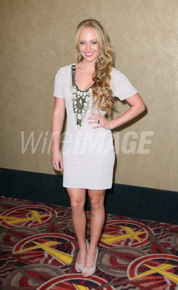 Actress Danielle Chuchran arrives for the sneak preview of ... - photo #37