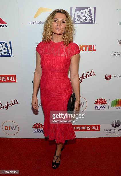Actress Danielle Cormack attends Australians In Film's 5th Annual Awards Gala at NeueHouse Hollywood on October 19 2016 in Los Angeles California