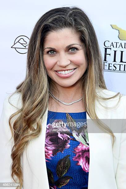 Actress Danielle Fishel arrives at the 2014 Catalina Film Festival Premiere of 'Rudderless' on September 27 2014 in Catalina Island California
