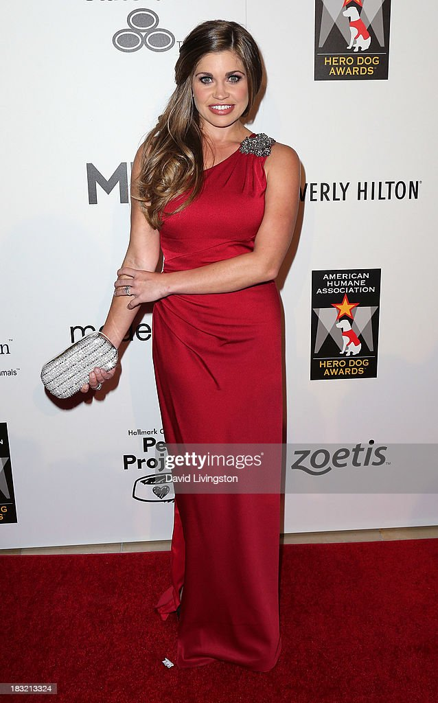 Actress <a gi-track='captionPersonalityLinkClicked' href=/galleries/search?phrase=Danielle+Fishel&family=editorial&specificpeople=1543291 ng-click='$event.stopPropagation()'>Danielle Fishel</a> attends the 3rd Annual American Humane Association Hero Dog Awards at The Beverly Hilton Hotel on October 5, 2013 in Beverly Hills, California.