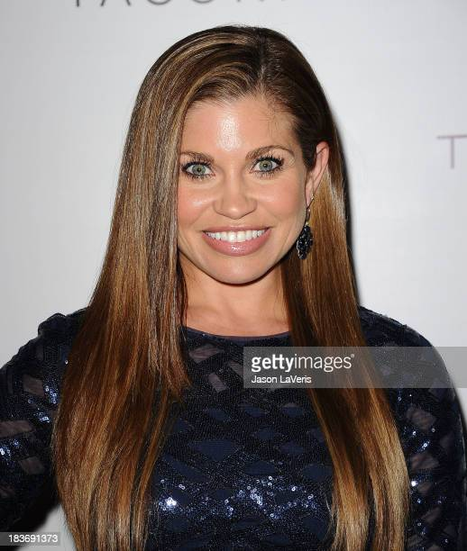 Actress Danielle Fishel attends the Club Tacori 2013 event at Greystone Manor Supperclub on October 8 2013 in West Hollywood California