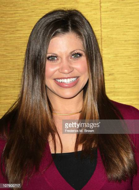 Actress Danielle Fishel attends the Comcast Entertainment Group Television Critics Association Cocktail Reception at The Langham Hotel on January 5...