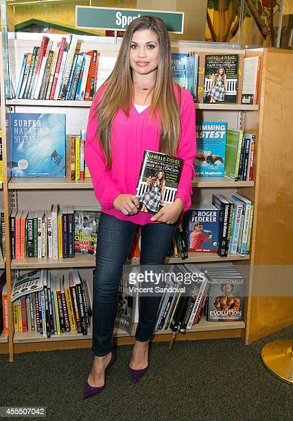 Actress Danielle Fishel signs and discusses her new book 'Normally This Would Be Cause for Concern' at Barnes Noble bookstore at The Grove on...