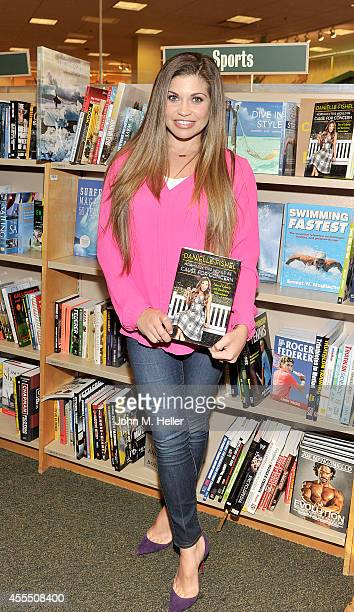 Actress Danielle Fishel signs copies of her new book 'Normally This Would Be Cause for Concern' at Barnes Noble bookstore at The Grove on September...