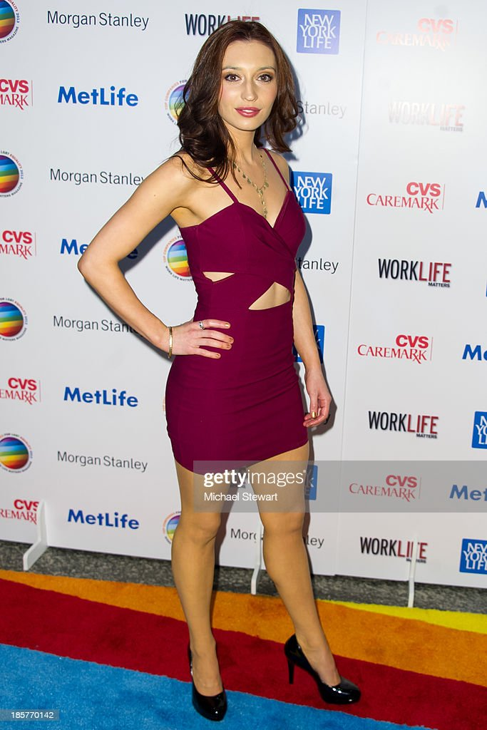 Actress Danielle Guldin attends the 11th Annual Work Life Matters gala at Club 101 on October 24, 2013 in New York City.