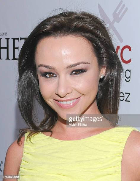 Actress Danielle Harris attends 'Hatchet III' Los Angeles Premiere at American Cinematheque's Egyptian Theatre on June 11 2013 in Hollywood California