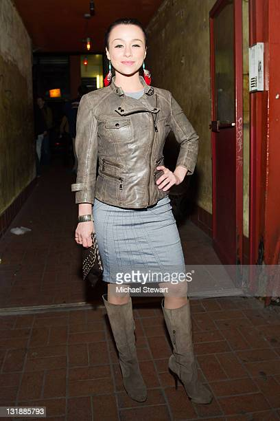 Actress Danielle Harris attends the opening night celebration of 'Stake Land' at Vol De Nuit on April 22 2011 in New York City