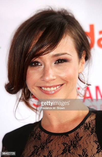 Actress Danielle Harris attends the second annual Streamy Awards at the Orpheum Theater on April 11 2010 in Los Angeles California