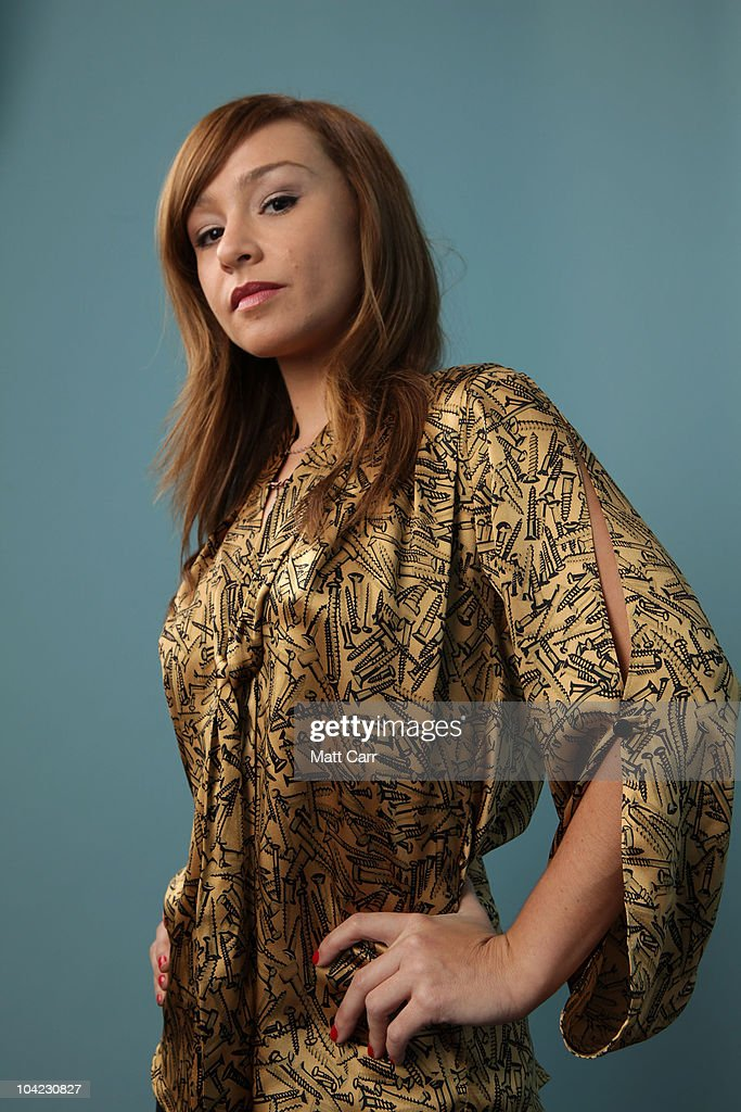 Actress <a gi-track='captionPersonalityLinkClicked' href=/galleries/search?phrase=Danielle+Harris&family=editorial&specificpeople=1543673 ng-click='$event.stopPropagation()'>Danielle Harris</a> from 'Stake Land' poses for a portrait during the 35th Toronto International Film Festival on September 17, 2010 in Toronto, Canada.