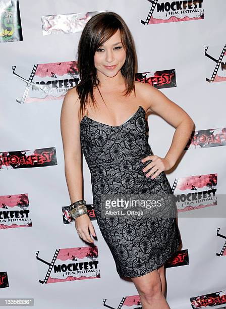 Actress Danielle Harris participates in Shockfest Film Festival 50 held at Raleigh Studios on November 19 2011 in Los Angeles California