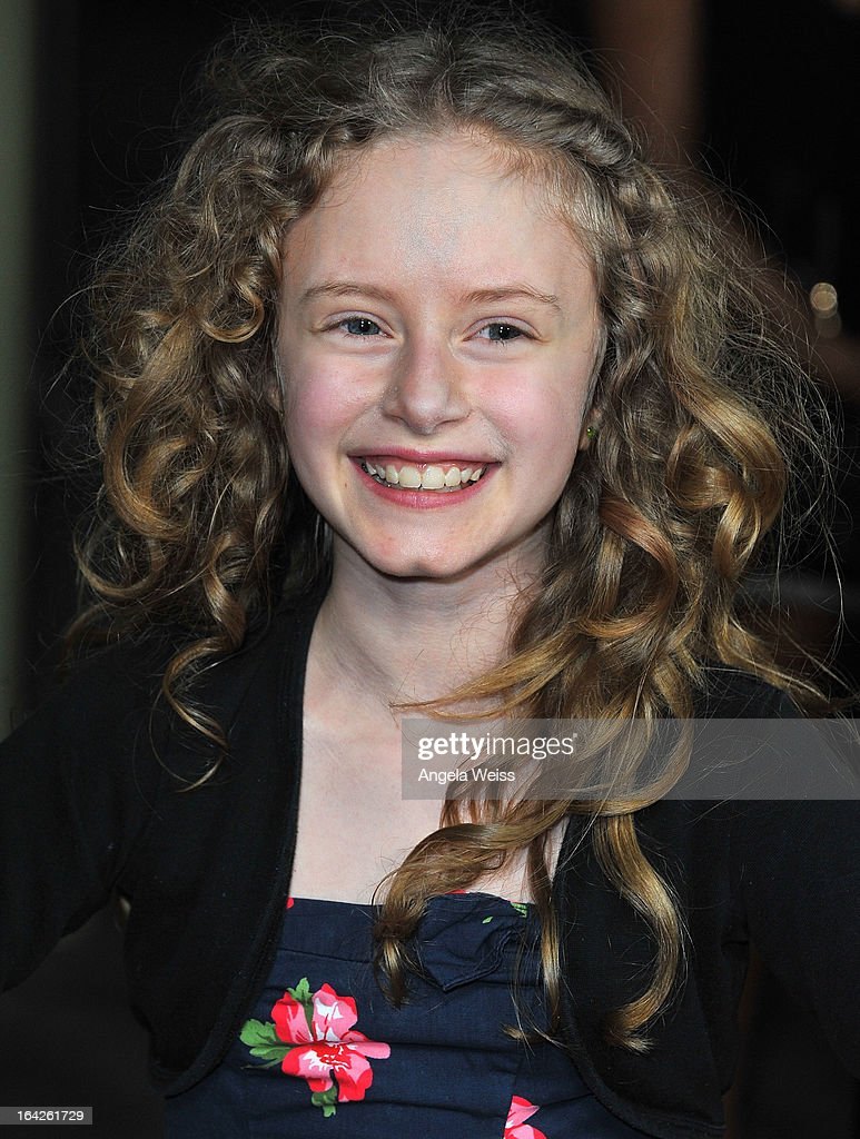Actress Danielle Kotch arrives to the LA screening of Magnolia Pictures' 'The Brass Teapot' at ArcLight Hollywood on March 21, 2013 in Hollywood, California.