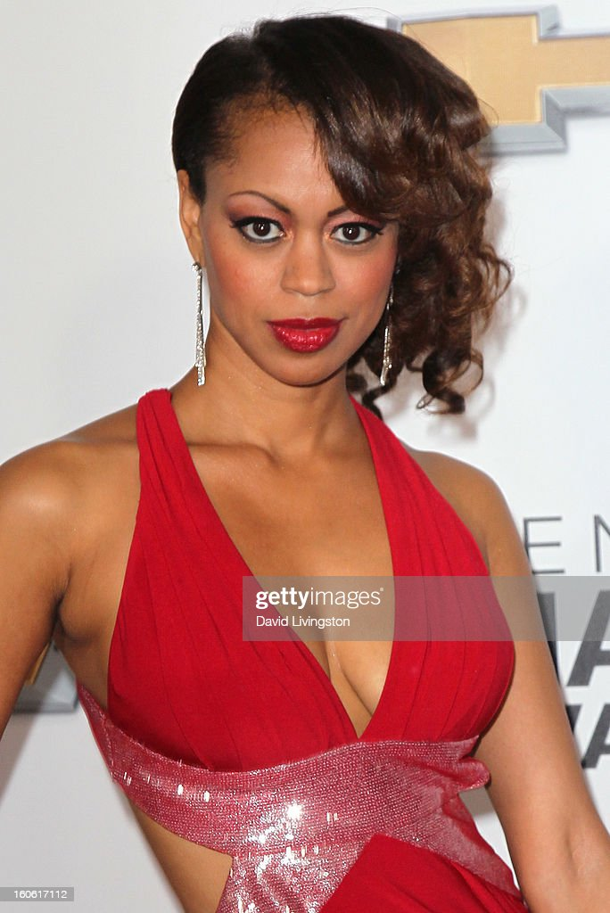 Actress Danielle Lewis attends the 44th NAACP Image Awards at the Shrine Auditorium on February 1, 2013 in Los Angeles, California.