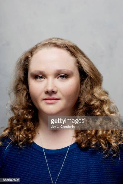 Actress Danielle Macdonald from the film Patti Cake$ is photographed at the 2017 Sundance Film Festival for Los Angeles Times on January 21 2017 in...