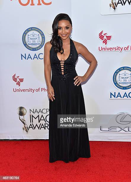 Actress Danielle Nicolet arrives at the 46th Annual NAACP Image Awards on February 6 2015 in Pasadena California