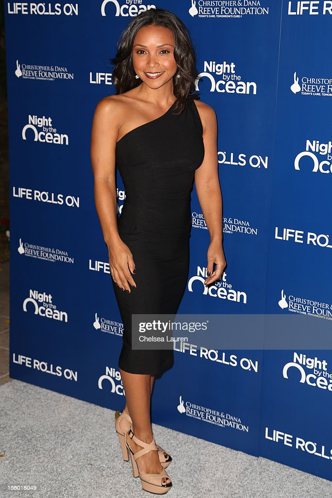 Actress Danielle Nicolet arrives at the Life Rolls On foundation's 9th annual 'Night by the Ocean' gala at Ritz Carlton Hotel on November 10, 2012 in Marina del Rey, California.