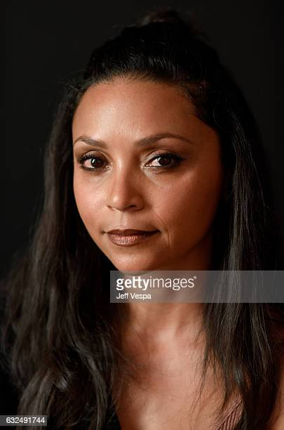 Actress Danielle Nicolet from the film 'Deidra Laney Rob a Train' poses for a portrait in the WireImage Portrait Studio presented by DIRECTV during...