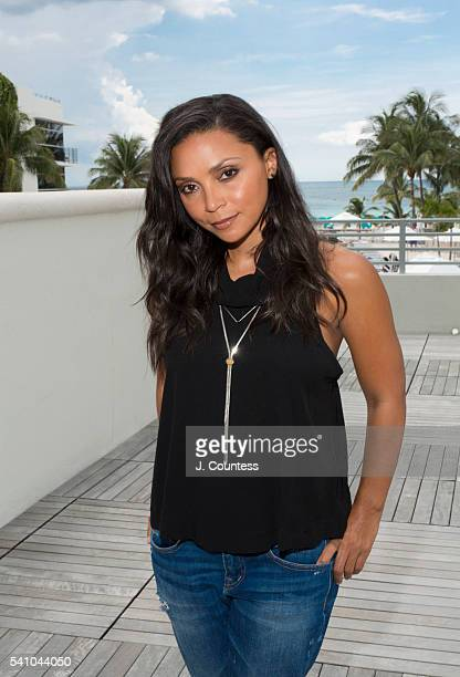 Actress Danielle Nicolet poses for a portrait at the American Black Film Festival on June 16 2016 at the Ritz Carlton in Miami Florida