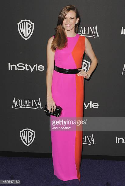 Actress Danielle Panabaker arrives at the 16th Annual Warner Bros And InStyle PostGolden Globe Party at The Beverly Hilton Hotel on January 11 2015...