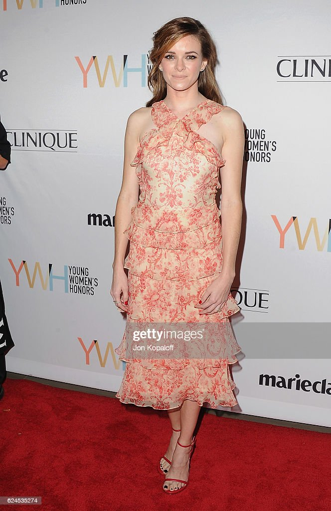 Actress Danielle Panabaker arrives at the 1st Annual Marie Claire Young Women's Honors at Marina del Rey Marriott on November 19, 2016 in Marina del Rey, California.