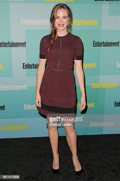 Actress Danielle Panabaker arrives at the Entertainment Weekly celebration at Float at Hard Rock Hotel San Diego on July 11 2015 in San Diego...