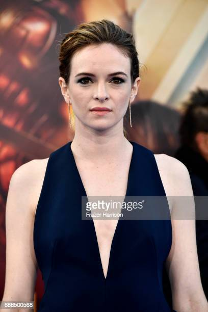 Actress Danielle Panabaker arrives at the Premiere Of Warner Bros Pictures' 'Wonder Woman' at the Pantages Theatre on May 25 2017 in Hollywood...