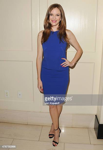 Actress Danielle Panabaker arrives at TheWrap's 2nd Annual Emmy Party at The London on June 11 2015 in West Hollywood California