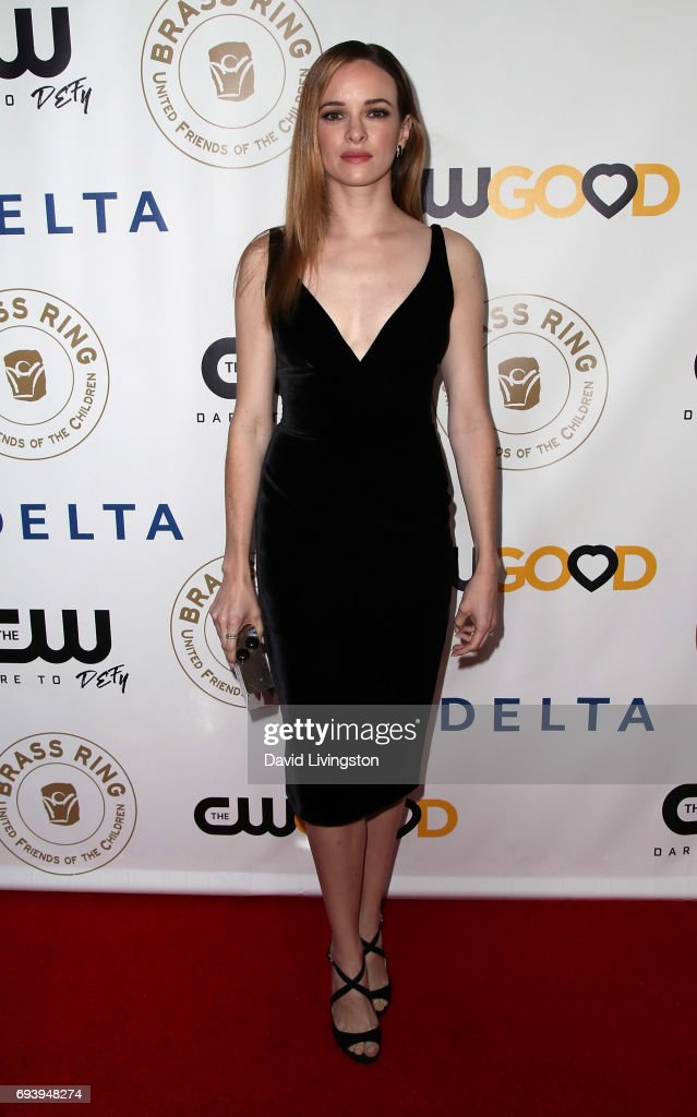 Actress Danielle Panabaker attends the 14th Annual Brass Ring Awards Dinner at The Beverly Hilton Hotel on June 8, 2017 in Beverly Hills, California.