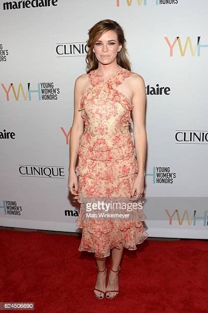 Actress Danielle Panabaker attends the 1st annual Marie Claire Young Women's Honors at Marina del Rey Marriott on November 19 2016 in Marina del Rey...
