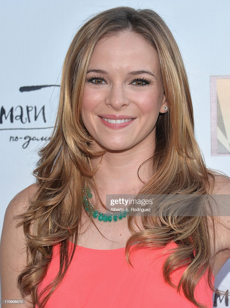 Actress <a gi-track='captionPersonalityLinkClicked' href=/galleries/search?phrase=Danielle+Panabaker&family=editorial&specificpeople=633063 ng-click='$event.stopPropagation()'>Danielle Panabaker</a> attends The Creative Coalition's 2013 Summer Soiree at Mari Vanna Los Angeles on June 19, 2013 in West Hollywood, California.