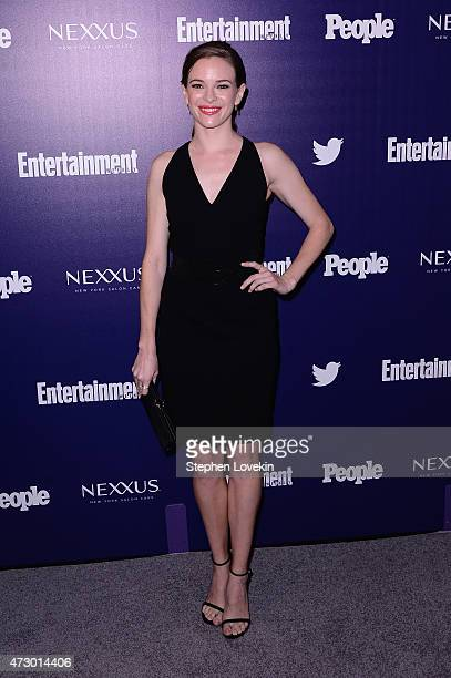 Actress Danielle Panabaker attends the Entertainment Weekly and PEOPLE celebration of The New York Upfronts at The Highline Hotel on May 11 2015 in...