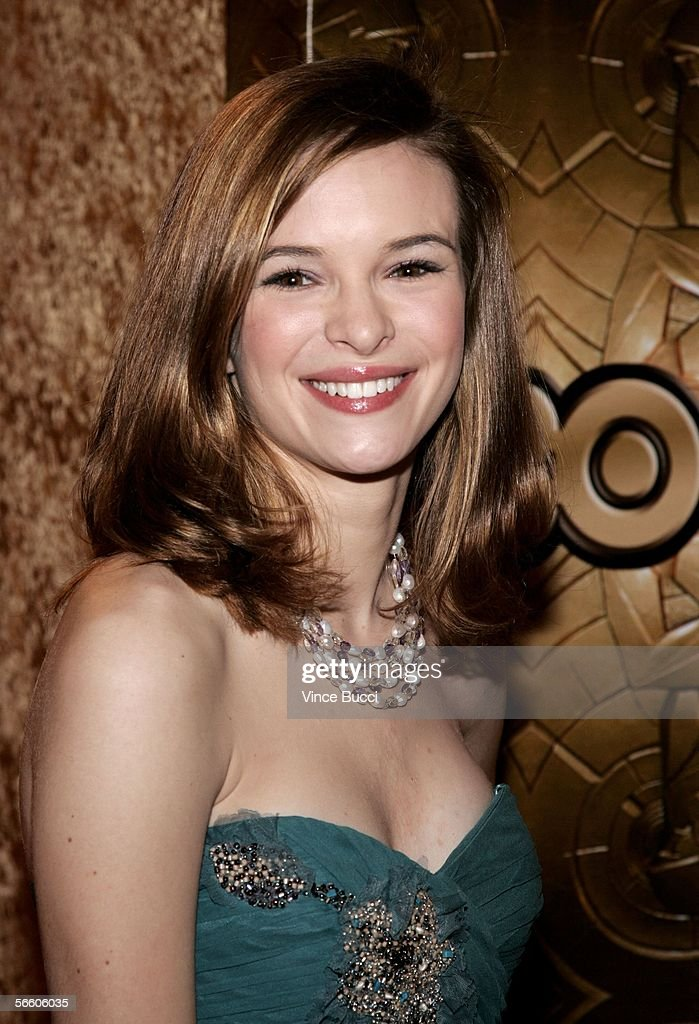 Actress Danielle Panabaker attends the HBO Golden Globe after party held at the Beverly Hilton on January 16, 2006 in Beverly Hills, California.