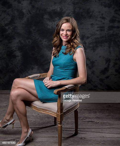 Actress Danielle Panabaker of The Flash poses for a portrait during CTV 2014 Upfront at Sony Centre for the Performing Arts on June 5 2014 in Toronto...