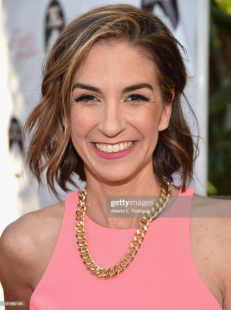 Actress Danielle Schneider arrives to the premiere of Hulu's 'The Hotwives of Orlando' at the Sherry Lansing Theatre at Paramount Studios on July 8, 2014 in Los Angeles, California.