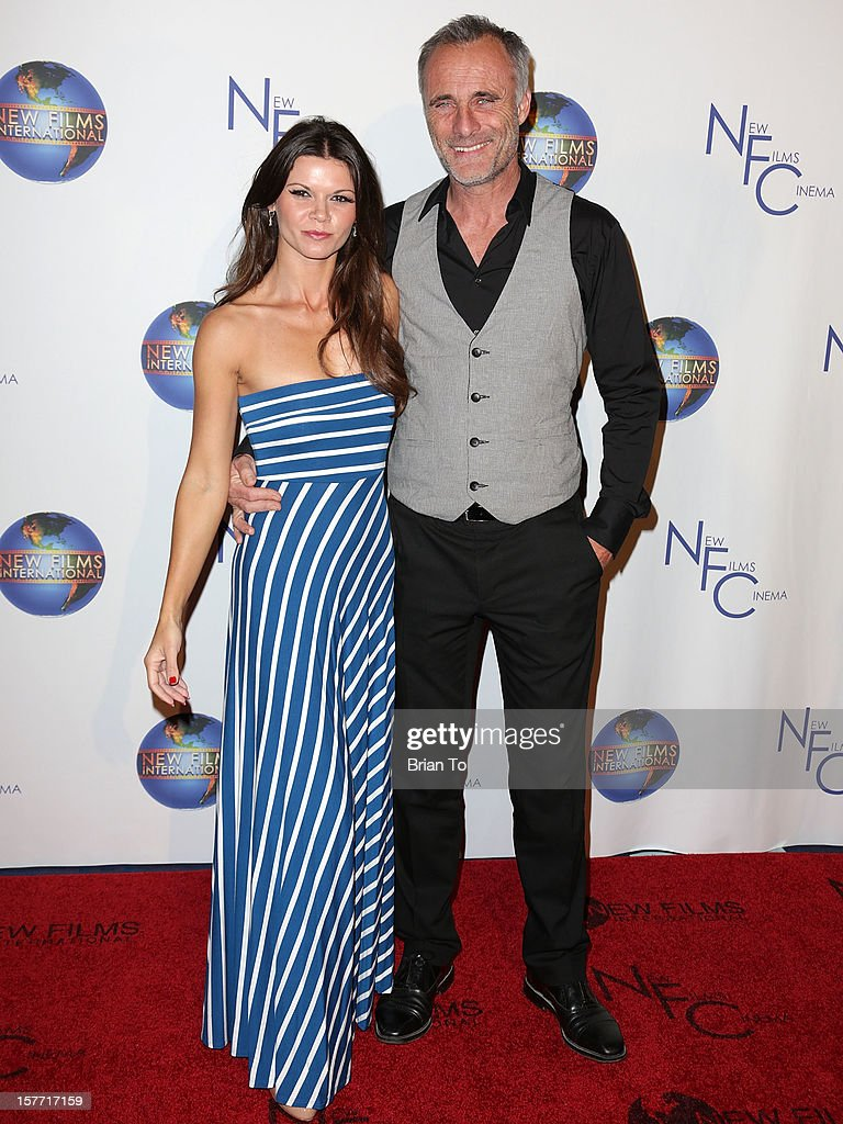 Actress Danielle Vasinova and actor Timothy V. Murphy attend the Los Angeles premiere of 'Flying Lessons' at Laemmle Monica 4-Plex on December 5, 2012 in Santa Monica, California.