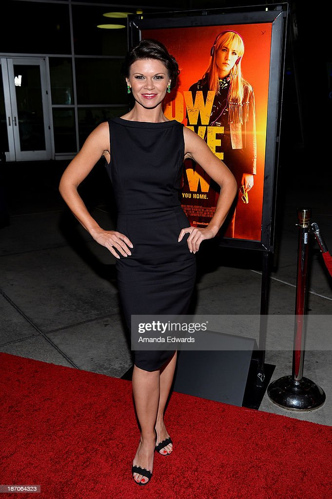 Actress Danielle Vasinova arrives at the Los Angeles premiere of 'How I Live Now' at ArcLight Hollywood on November 5 2013 in Hollywood California