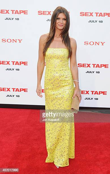 Actress Danielle Vasinova arrives at the Los Angeles Premiere 'Sex Tape' at Regency Village Theatre on July 10 2014 in Westwood California