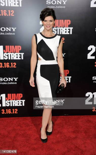 Actress Danielle Vasinova arrives at the Premiere Of Columbia Pictures' '21 Jump Street' at Grauman's Chinese Theatre on March 13 2012 in Hollywood...