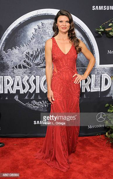 Actress Danielle Vasinova arrives for the Premiere Of Universal Pictures' 'Jurassic World' held in the courtyard of Hollywood Highland on June 9 2015...