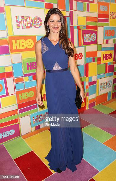 Actress Danielle Vasinova attends HBO's Official 2014 Emmy After Party at The Plaza at the Pacific Design Center on August 25 2014 in Los Angeles...