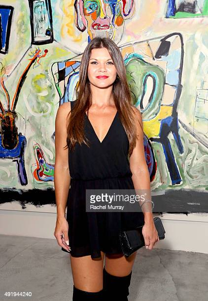 Actress Danielle Vasinova attends 'Immovable Thoughts' by artist Alexander Yulish With Media Partner Interview Magazine at Ace Gallery on October 8...