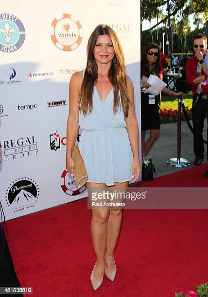 Actress Danielle Vasinova attends the 5th Annual Variety Texas Hold 'Em poker tournament benefiting The Children's Charity Of SoCal at Paramount...