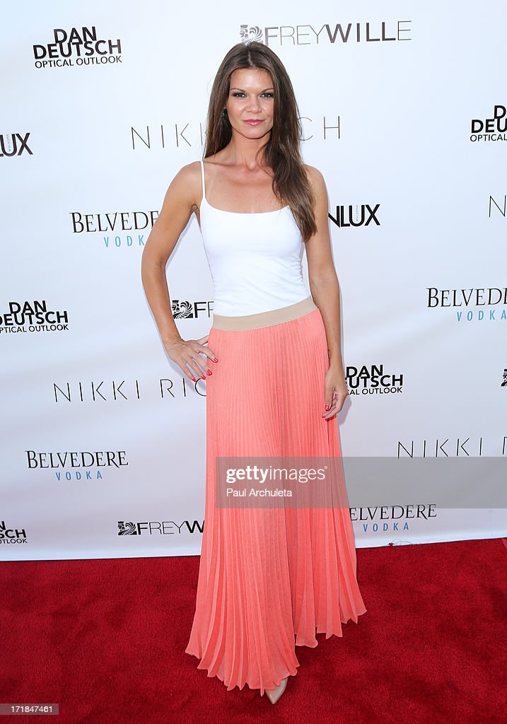 Actress Danielle Vasinova attends the Genlux Magazine summer issue release party at the Luxe Rodeo Drive Hotel on June 28, 2013 in Beverly Hills, California.