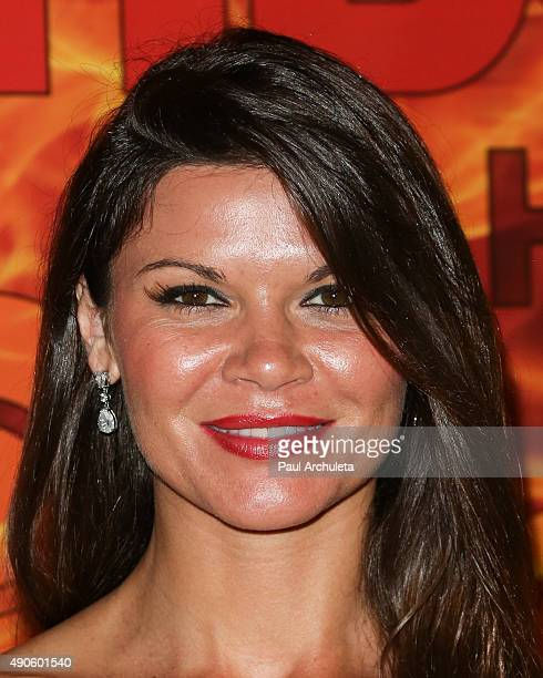 Actress Danielle Vasinova attends the HBO's Official 2015 Emmy After Party at The Plaza at the Pacific Design Center on September 20 2015 in Los...
