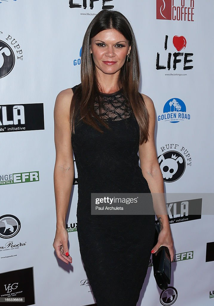 Actress Danielle Vasinova attends the No Kill LA charity event at Fred Segal on April 2, 2013 in West Hollywood, California.