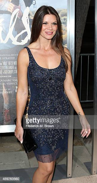Actress Danielle Vasinova attends the Premiere of Fox Searchlight's 'Wild' at the AMPAS Samuel Goldwyn Theater on November 19 2014 in Beverly Hills...