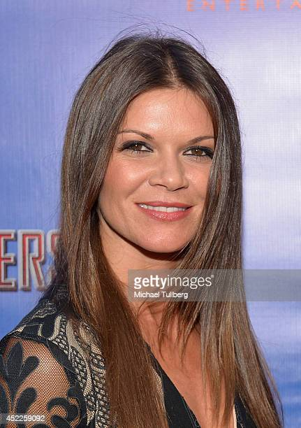 Actress Danielle Vasinova attends the premiere of the new film 'Persecuted' at ArcLight Hollywood on July 16 2014 in Hollywood California