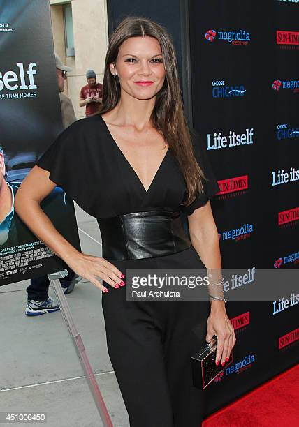 Actress Danielle Vasinova attends the screening of 'Life Itself' at the ArcLight Cinemas on June 26 2014 in Hollywood California