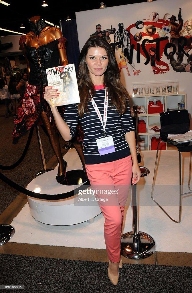 Actress Danielle Vasinova participates in WonderCon Anaheim 2013 - Day 3 held at Anaheim Convention Center on March 31, 2013 in Anaheim, California.